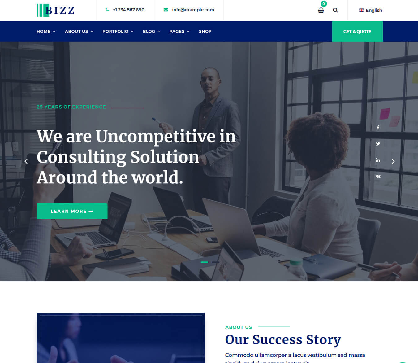 Bizz - Business Consulting and Professional Services