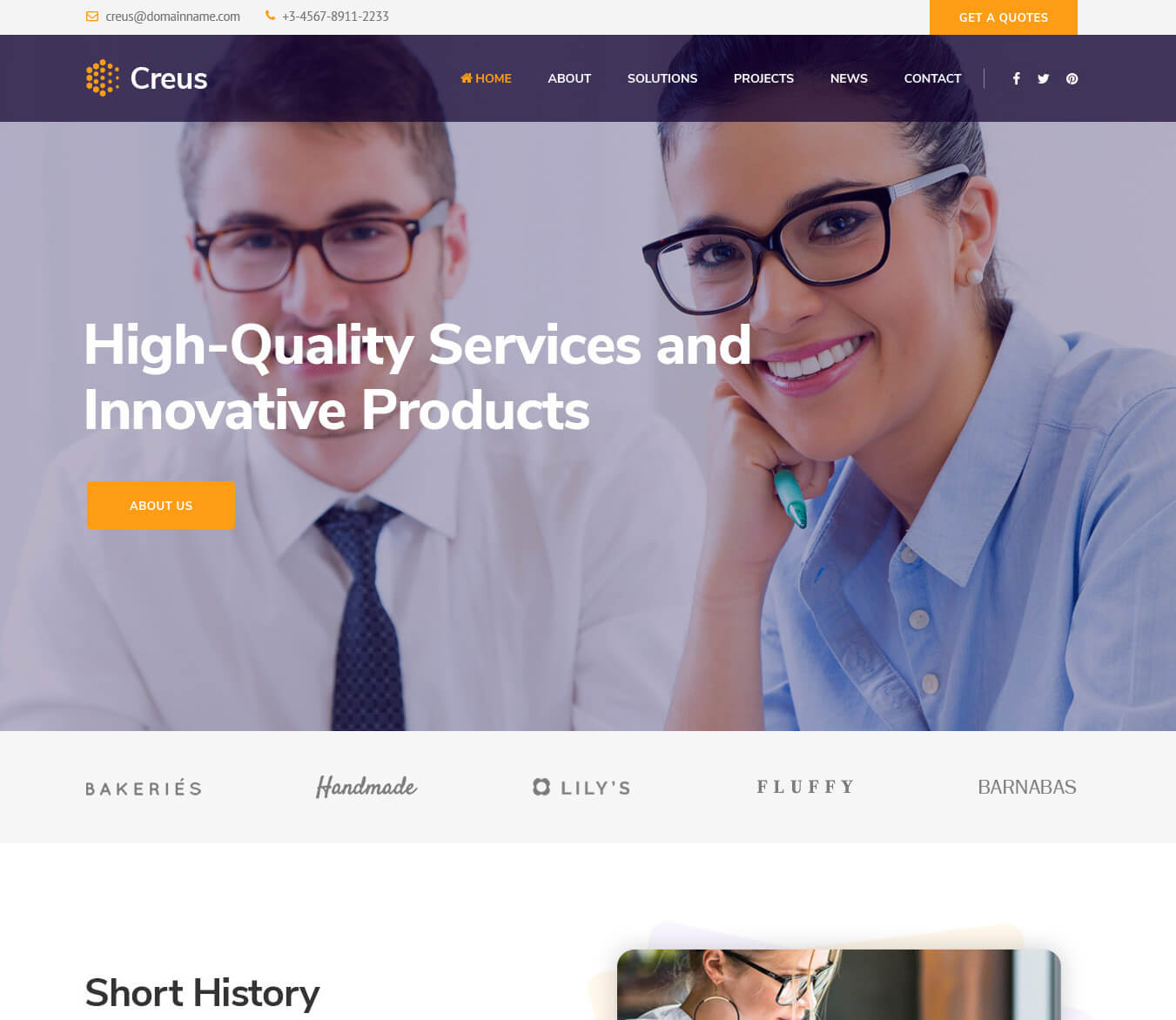 Creus - Business Consulting Joomla Template