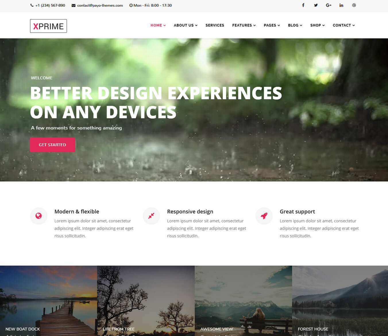 XPRIME - Creative Joomla Multipurpose Template