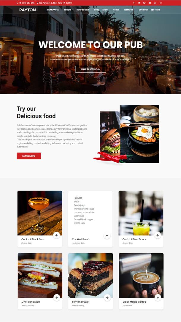 Payton - Business Creative WordPress Multipurpose Theme - 4
