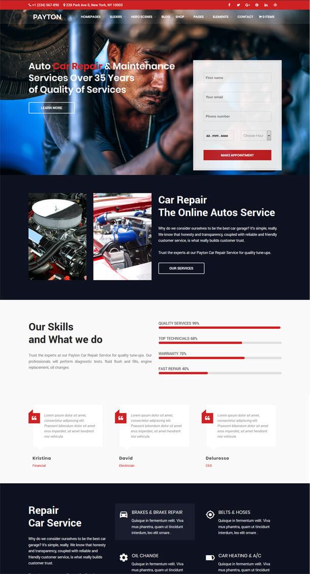 Payton - Business Creative WordPress Multipurpose Theme - 5